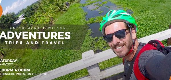 ENGLISH CLUB: ADVENTURES, TRIPS & TRAVEL WITH HAMISH MCNAIR WILSON