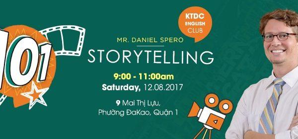 ENGLISH CLUB - STORYTELLING 101 WITH Mr. DANIEL SPERO