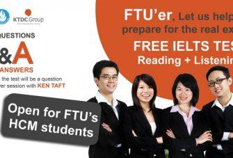 Free IELTS Test cho sinh viên Ngoại Thương