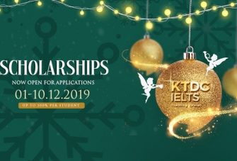 Học bổng IELTS toàn phần: Quà tặng ấm áp mùa Giáng Sinh
