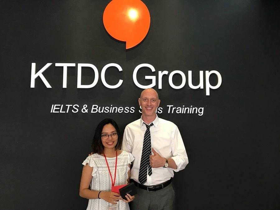 Kinh nghiệm luyện IELTS 8.0 của cao thủ Trần Nguyễn Kỳ Duyên