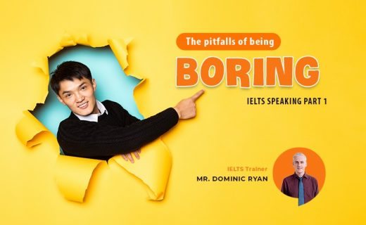 The Pitfalls of Being Boring Speaking Part 1 answers