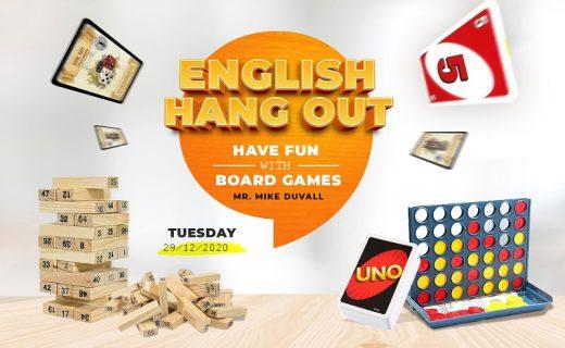 English Hang Out: chơi board games cùng thầy Mike